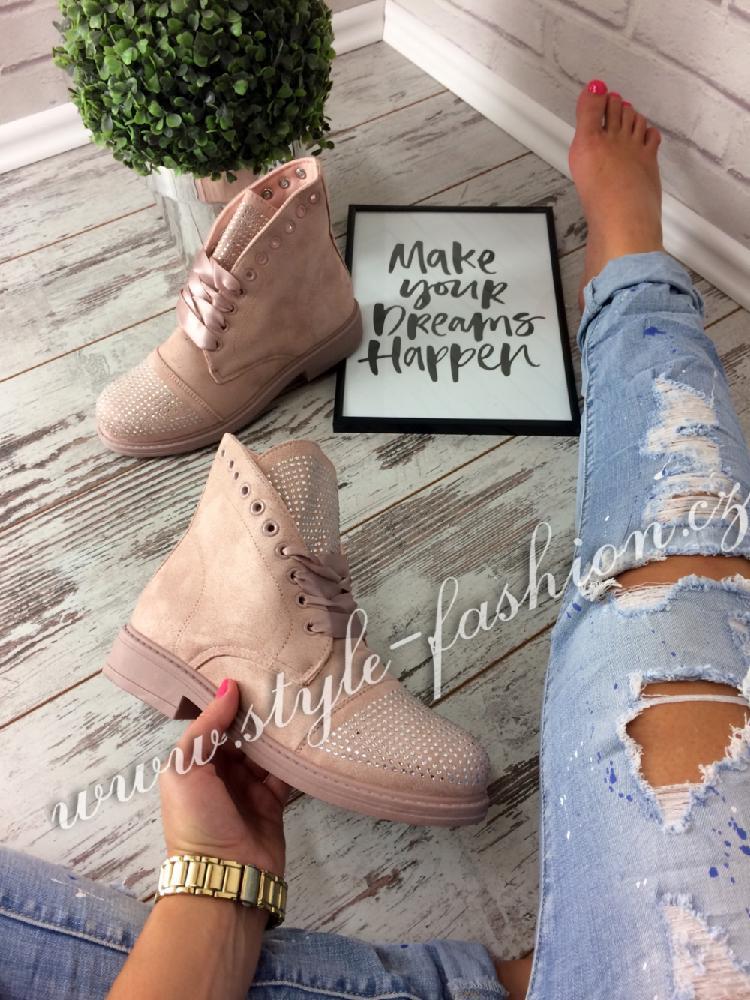 ec2c34702 Trendy workery růžové | Style Fashion