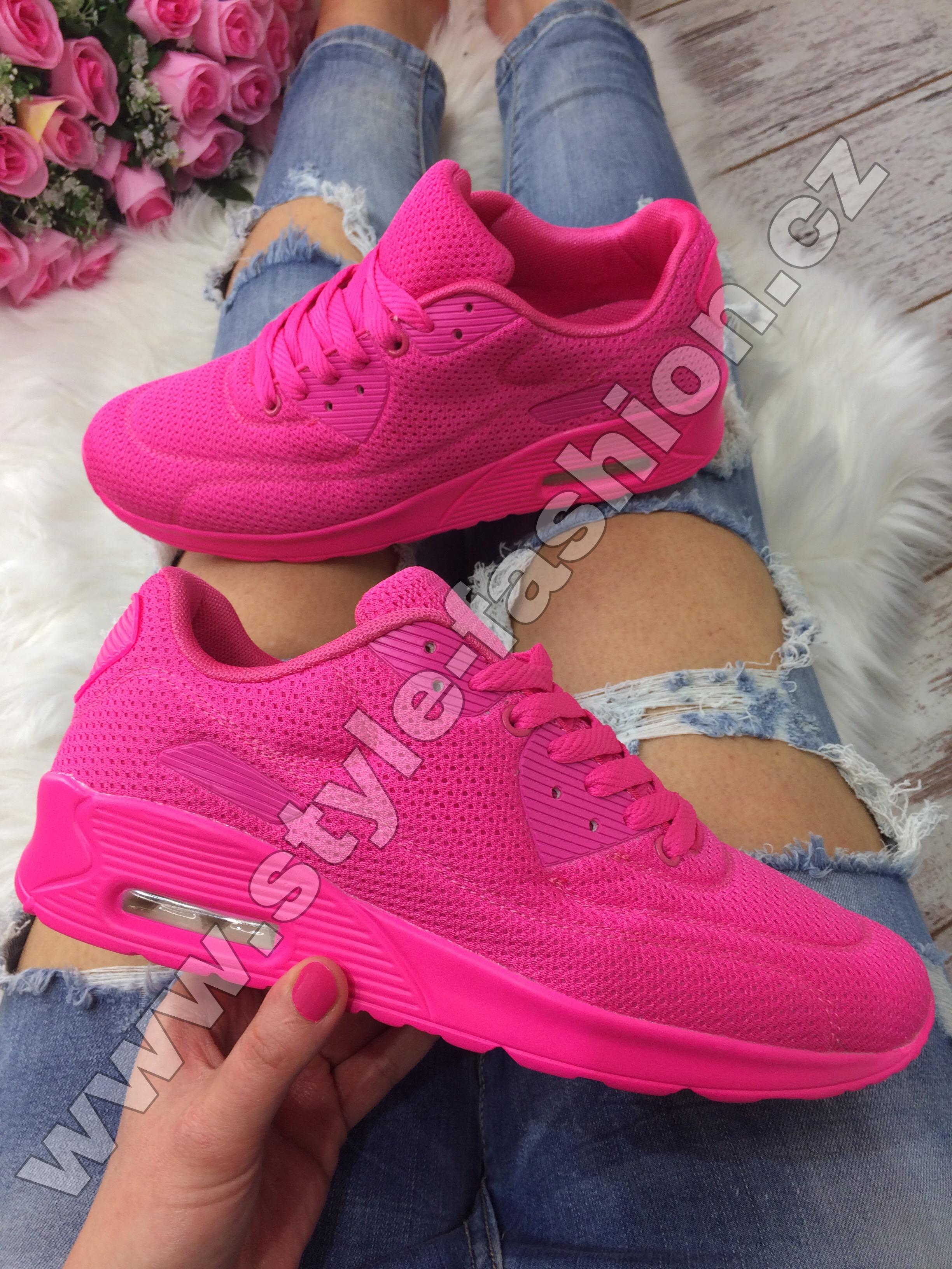 8227056b31 Neonové tenisky růžové